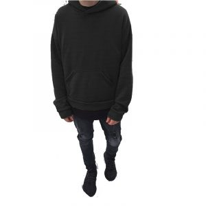 black color hoodie kanyewest