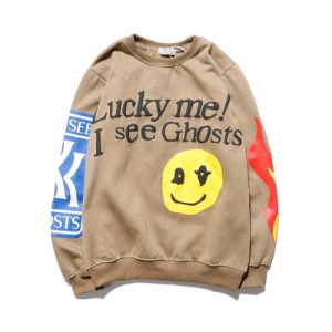 Jesus is King Kids See Ghosts Sweatshirt