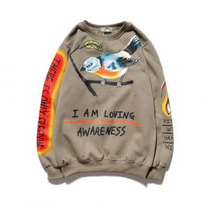 KANYE I am Loving Awareness Jesus is King Hoodie