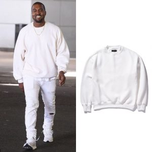 Kanye Merch Oversize Loose Hoodies