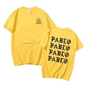 Kanye West Jesus is King Merch Pablo T Shirt