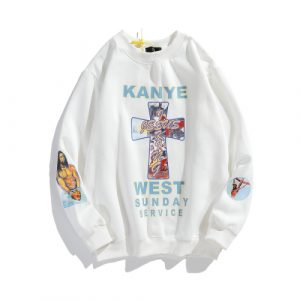 kanye West Merch Shop Jesus is King Hoodie
